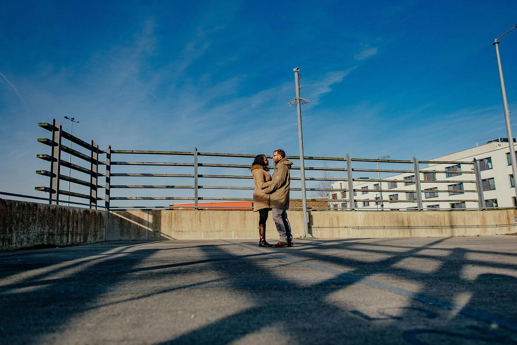 an urban pre wedding shoot in Brighton, a brighton pre wedding shoot