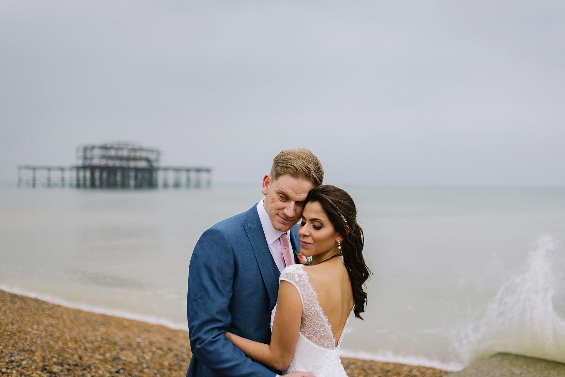Brighton Wedding, alternative wedding photographer brighton