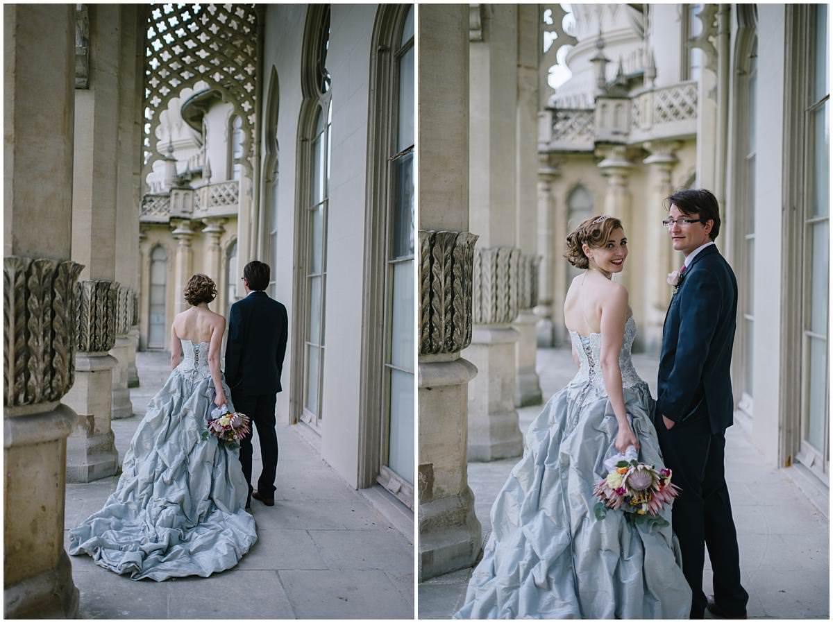 A Royal Pavilion and Brighton Beach Wedding