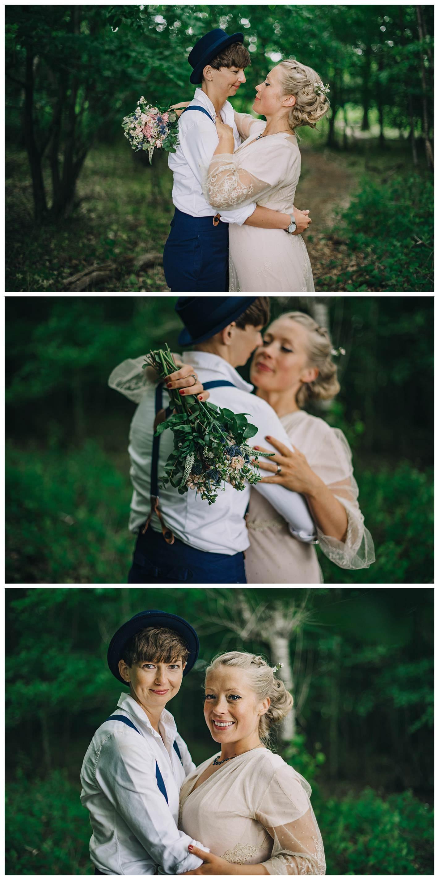 Hawthbush Farm wedding, same sex wedding photography
