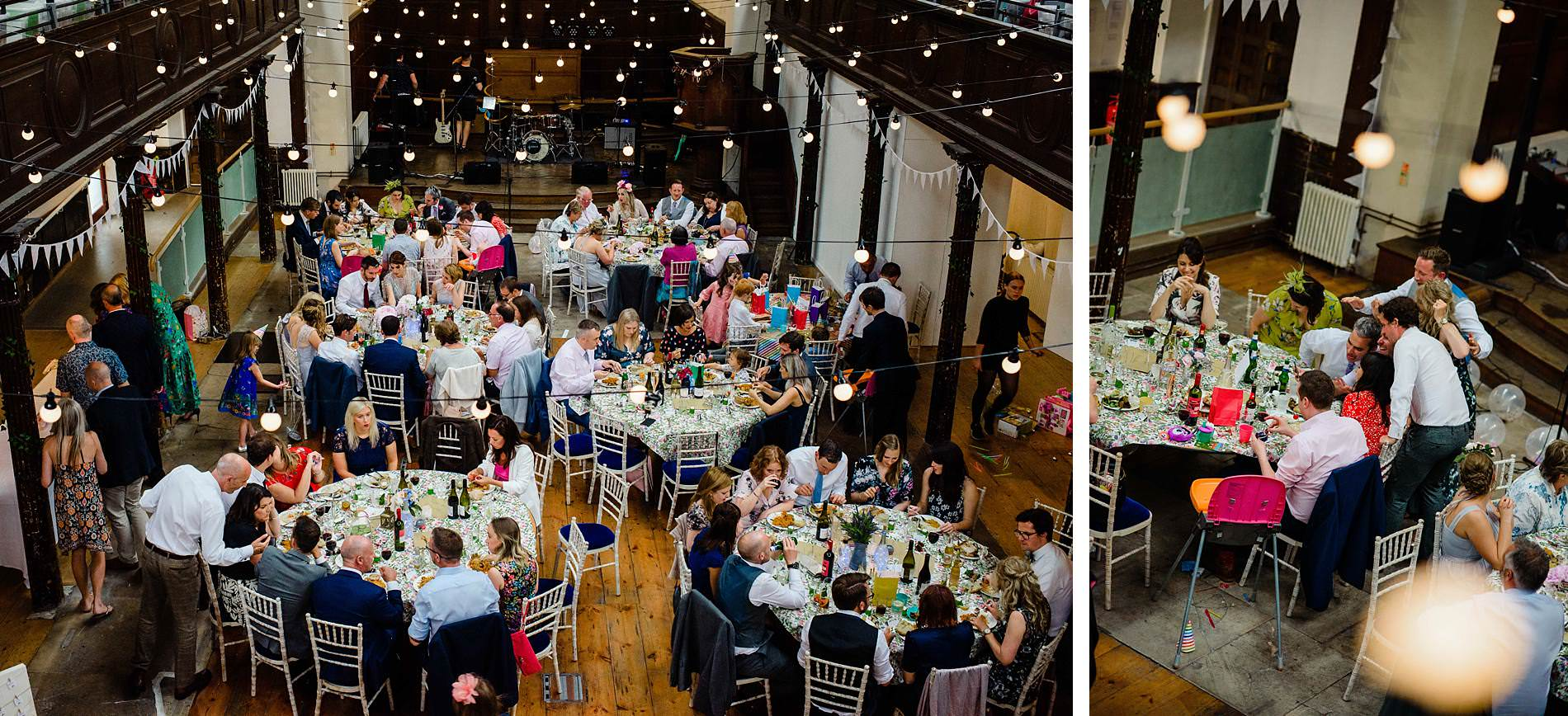 Wedding reception at Fabrica Brighton