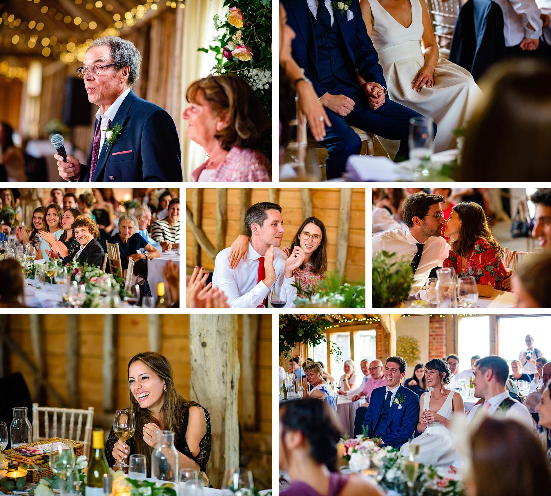 wedding reception The Long Barns Hampshire