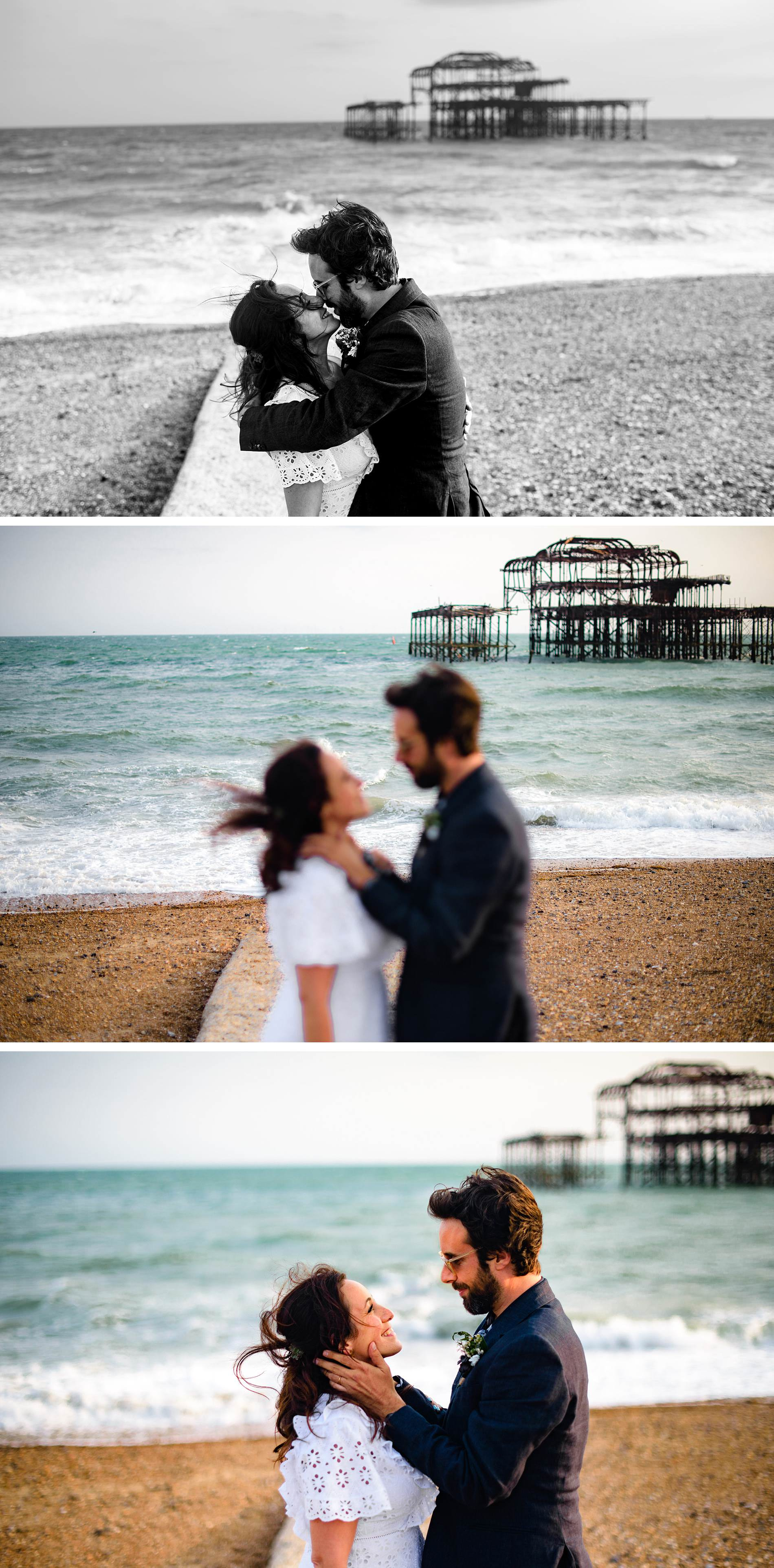Brighton bandstand i360 weddings