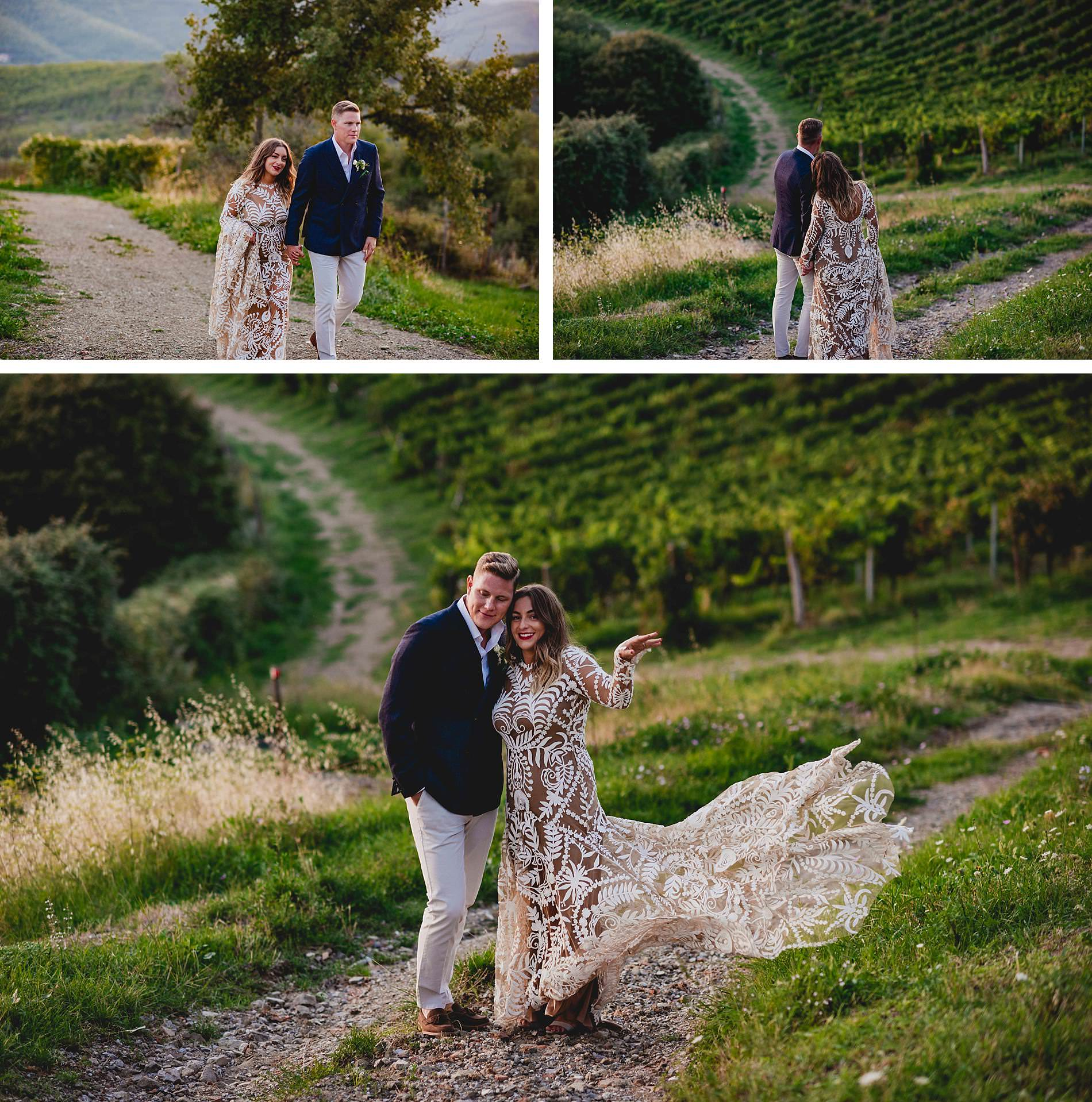 Destination wedding Castelvechhi Tuscany